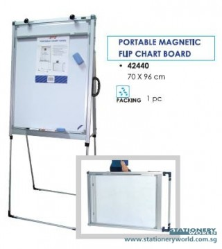 Portable Magnetic Flip Chart Board STz